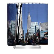 Empire State Of Mind In The Late Springtime Shower Curtain