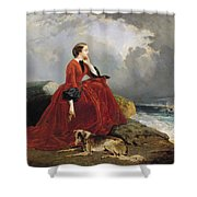 Empress Eugenie Shower Curtain