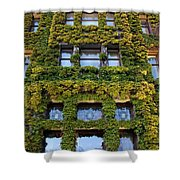 Empress Hotel Windows Shower Curtain