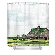 Empty Barn Shower Curtain