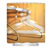 Empty Hangers Shower Curtain
