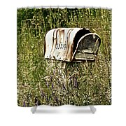 Empty Mailbox At 35476 Shower Curtain