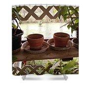 Empty Pots Shower Curtain