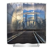 Empty Sky Memorial Shower Curtain