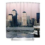 Empty Sky Shower Curtain