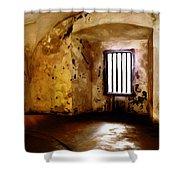 Empty Walls Shower Curtain