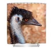 Emu Profile Shower Curtain