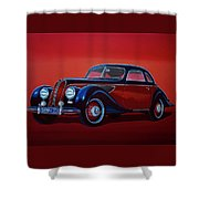 Emw Bmw 1951 Painting Shower Curtain