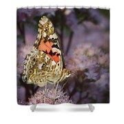 En Garde - Painted Lady - Butterfly Shower Curtain