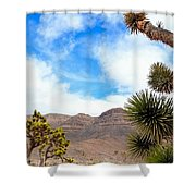 En Route To Grand Canyon West Rim Shower Curtain