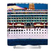 En Voyage Shower Curtain