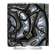Enamelled Shower Curtain