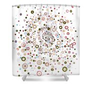 Enantiomeric Excess Shower Curtain