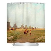 Encampment Shower Curtain