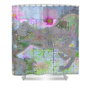 Enchanted 2015 Shower Curtain