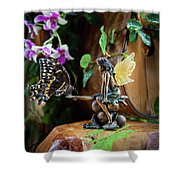 Enchanted Encounters Shower Curtain