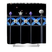 Enchanted Evening  Shower Curtain
