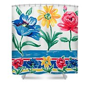 Enchanted Florals Shower Curtain