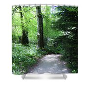 Enchanted Forest At Blarney Castle Ireland Shower Curtain