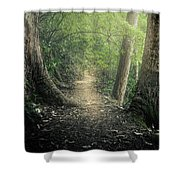 Enchanted Forrest Shower Curtain