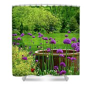 Enchanted Garden Shower Curtain
