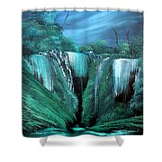 Enchanted Hideaway Shower Curtain by Cynthia Adams