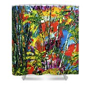 Enchanted Jungle  #167 Shower Curtain