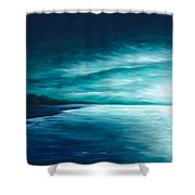 Enchanted Moon I Shower Curtain