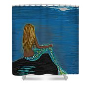 Enchanted Moon Shower Curtain