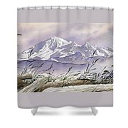 Enchanted Mountain Shower Curtain