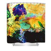 Enchanted Reef #306 Shower Curtain