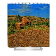 Enchanted Rock Shower Curtain
