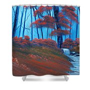 Enchanted Surrealism Shower Curtain by Cynthia Adams