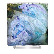Enchanted Waters Shower Curtain