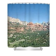 Enchantment Resort Sedona Arizona Shower Curtain