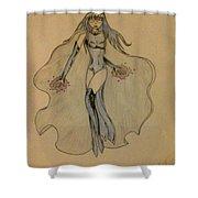 Enchantress Shower Curtain