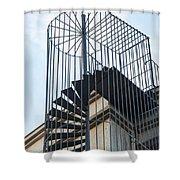 Enclosed Escape Shower Curtain