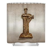 Enclosed Screw Jack II Shower Curtain