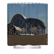 Enclosure Shower Curtain