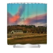 End Of A Beautiful Day Shower Curtain