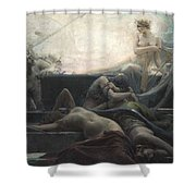 End Of All Things Shower Curtain