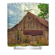 End Of An Era In Sailor Springs Illinois Shower Curtain