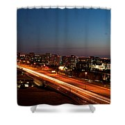 End Of Day Shower Curtain