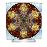 10481 End Of Days 2 Kaleidoscope Shower Curtain