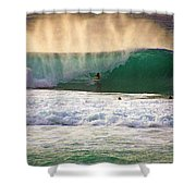 End Of Light Shower Curtain by Kevin Smith