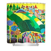 End Of May Shower Curtain