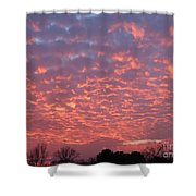 End Of November Shower Curtain