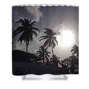 End Of The Day In The Islands Shower Curtain