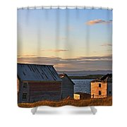 End Of The Day In Trinity Bay, Newfoundland Shower Curtain