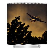 End Of The Day Milk Run Shower Curtain
